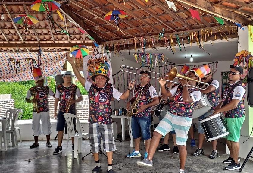 Carnaval na fazenda Maracajá no domingo (23)