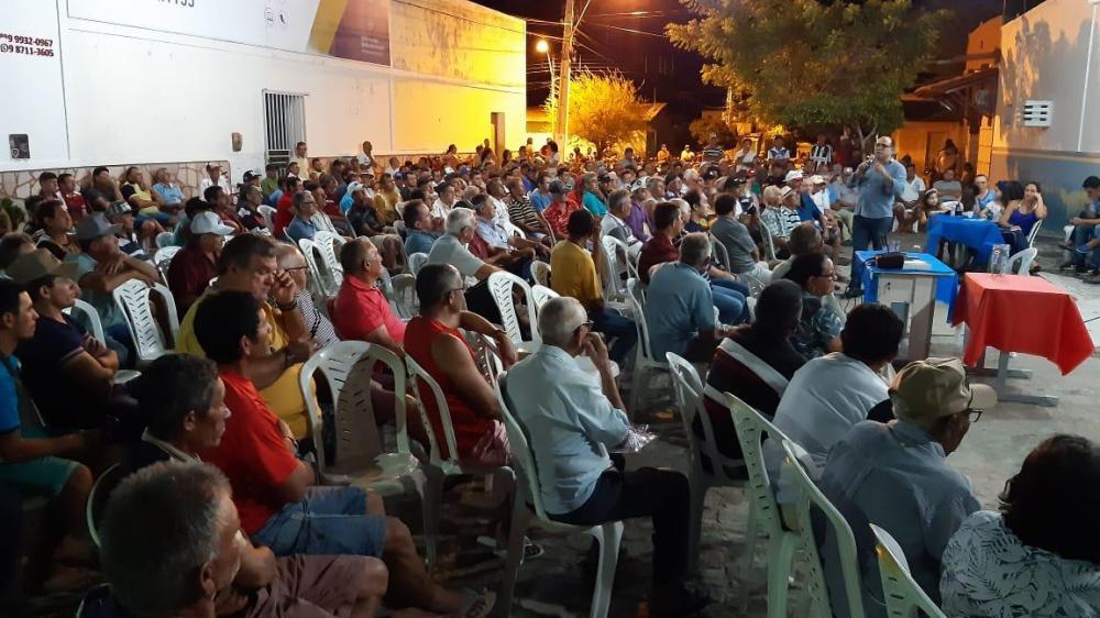 Centenas de homens participam do dia 'D' de Mobilização em São José do Sabugi