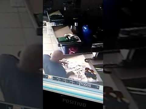 Homem é flagrado aplicando o 'Golpe da Burra' em supermercadod e Junco do Seridó