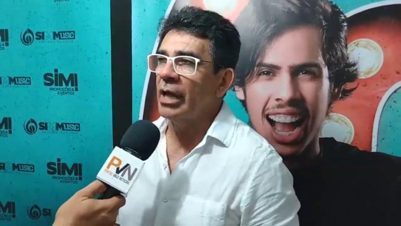 Pai de Gabriel Diniz participa do Réveillon promovido pela a Wind Power em Santa Luzia