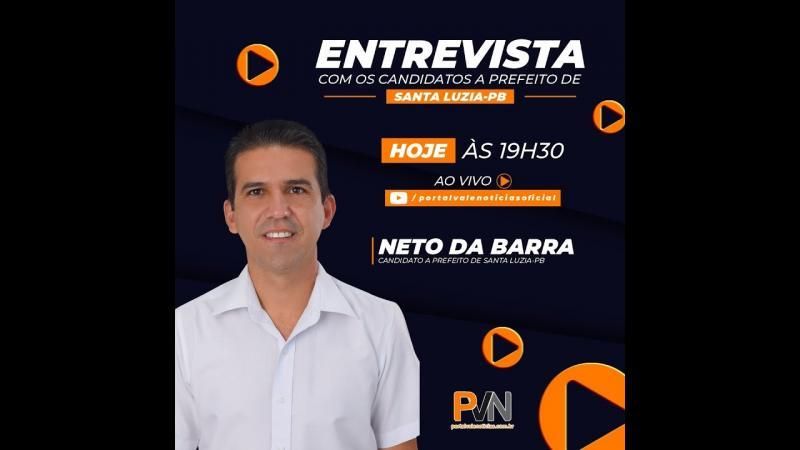 Entrevista com o candidato a prefeito do PT Neto da Barra