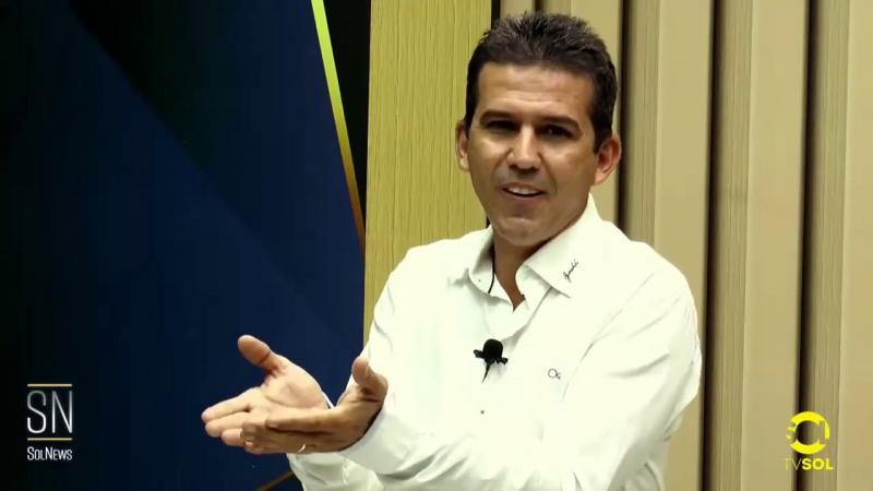 Confira a entrevista de Neto da Barra no programa Sol News da Tv Sol