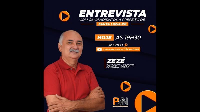 Entrevista com o candidato a prefeito Zezé pelo o MDB