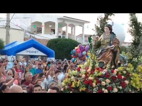 Procissão da festa de Santa Luzia