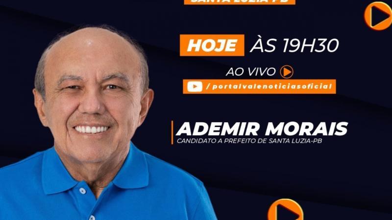 Entrevista com o candidato a prefeito Ademir Morais - DEM