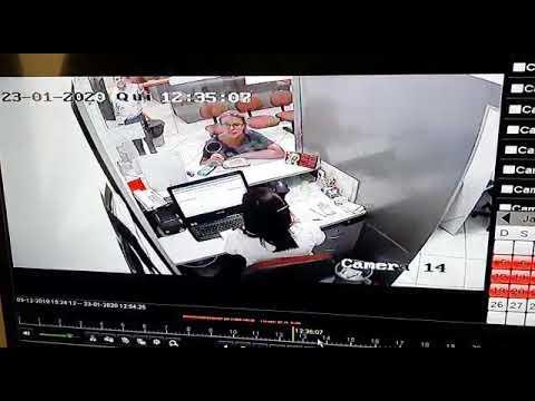 Câmeras registram assalto na loja Armazém Paraíba em Soledade