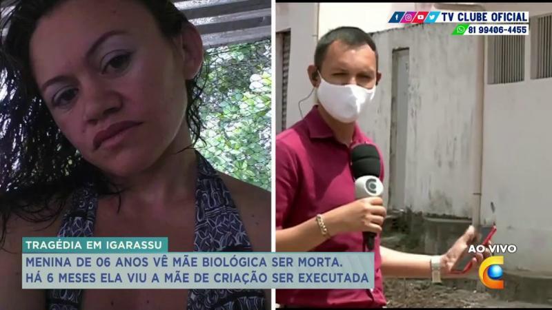 Mãe assassinada na frente da filha de criação em Iagarassu PE