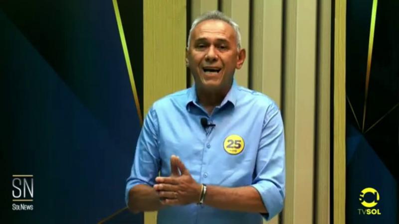 Entrevista com o candidato a vice prefeito do DEM Tadeu de Maria Lucena