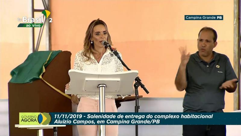 Ao vivo: Prefeitura de Campina Grande entrega o Complexo habitacioal Aluízio Campos